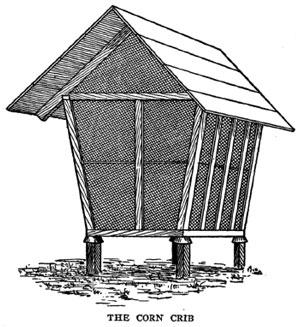 Build Corn Crib Plans