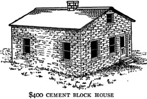 Handy farm devices cobleigh chapter 9 Concrete block home plans