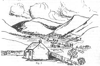 Food & Health in the Scottish Highlands 2 - Yellowlees Valley Sketch on